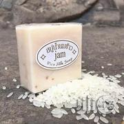 Thailand Rice Whitening Milk Soap With Collagen | Skin Care for sale in Lagos State, Amuwo-Odofin
