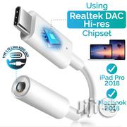 Type-c To 3.5mm Headphone Adapter Audio Aux Connector | Headphones for sale in Lagos State, Ikeja