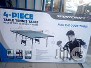 Indoor 4 Piece Table Tennis Board | Sports Equipment for sale in Lagos State, Surulere