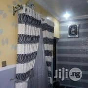Off White An Black Curtain | Home Accessories for sale in Lagos State, Ajah