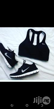Nike Jogging Canvas With Bra Top | Shoes for sale in Lagos State, Surulere