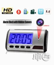 Hidden Spy Camera Table Clock With Remote Control | Security & Surveillance for sale in Lagos State, Ikeja