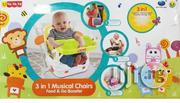 Baby 3 In 1 Musical Chair | Children's Furniture for sale in Lagos State, Lagos Island