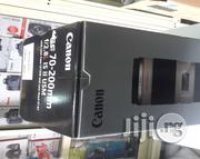 Canon EF 70-200mm F/2.8L IS 2 USM Lens | Accessories & Supplies for Electronics for sale in Lagos State, Ikeja