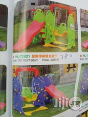 Brand New 3in1 Children Slide With Swing And Basketball Post   Toys for sale in Lagos State, Surulere
