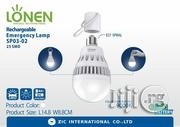 Lonen 12W LED Rechargeable Bulb - AC/DC Function | Home Accessories for sale in Lagos State, Oshodi-Isolo