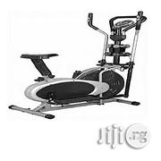 Generic Elliptical Bike With Dumbbell | Sports Equipment for sale in Rivers State, Port-Harcourt