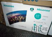 55'' Hisense 4k Curved TV | TV & DVD Equipment for sale in Lagos State, Lagos Mainland