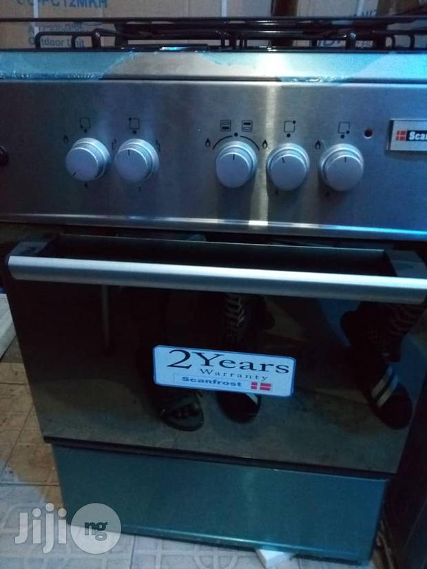 High Quality SCANFROST 4 Burner Cookers With Oven