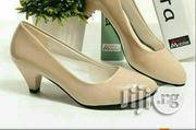 Fairly Used Beige Low Heel Shoes | Shoes for sale in Lagos State, Agboyi/Ketu