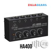 Behringer MICROAMP HA400 Headphone Amplifier | Headphones for sale in Lagos State