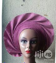 Ready To Wear Auto Gele In Onion Colour   Clothing Accessories for sale in Lagos State, Oshodi-Isolo