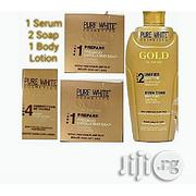 Pure White Gold Body Lotion,Serum and Soap | Skin Care for sale in Lagos State, Ojo