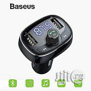Baseus Car Charger T Typed Bluetooth Mp3 Charger / U Disk Music Play/USB Charging Port | Vehicle Parts & Accessories for sale in Lagos State, Agege