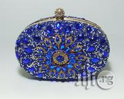 Blue Beaded Clutch Purse | Bags for sale in Abuja (FCT) State, Dei-Dei