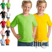 Wholesale Cotton Tee Shirt For Children In Nigeria (Wholesale Only) | Children's Clothing for sale in Lagos State, Lagos Mainland
