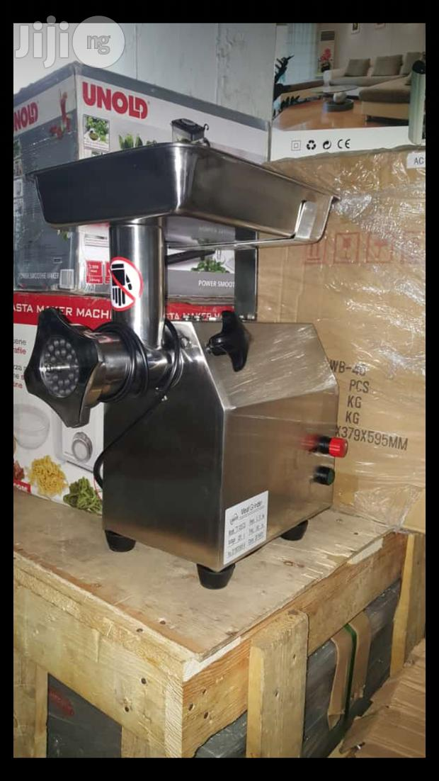Archive: Industrial Meat Mincer Italian Stock
