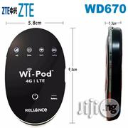 Unlocked Z-T-E WD670 WI-POD Mobile Hotspot Wireless Router WIFI Router | Networking Products for sale in Lagos State, Ikeja