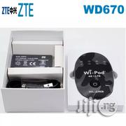 Unlocked ZTE WD670 WIPOD Mobile Hotspot Wireless WIFI Router | Networking Products for sale in Lagos State, Ikeja