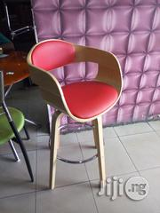 Rotating Bar Stool With Wooden Legs | Furniture for sale in Lagos State, Lekki Phase 1