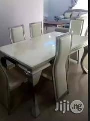 Quality Marble Dining Table by 6 | Furniture for sale in Lagos State, Gbagada