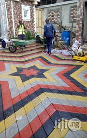 Concrete Floor Stamp And Interlock | Building & Trades Services for sale in Lagos State, Lekki Phase 2
