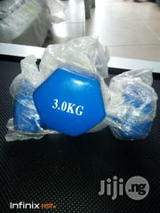 Standard Coated (3kg) Pair | Sports Equipment for sale in Rivers State, Port-Harcourt