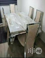 Quality 6 Seaters Marble Dining Table(Location Is Lagos)   Furniture for sale in Abuja (FCT) State, Asokoro
