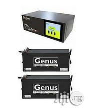 Genus 1.5kva Inverter Installation With 2 Super Strong Genus Batteries | Building & Trades Services for sale in Lagos State, Ikeja