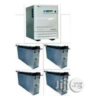 3.5kva Inverter Installation With 4 American Slim Batteries | Building & Trades Services for sale in Lagos State, Ilupeju