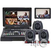 Datavideo HS-1600T Mobile Studio Kit With 3x PTC-140T ,TLM-700K, Hard Rolling Case   Photo & Video Cameras for sale in Lagos State, Ikeja