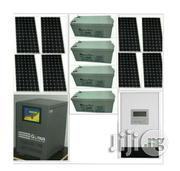 Solar-powered 5kva Genus Inverter With 8 Solar Panels | Solar Energy for sale in Lagos State, Lagos Island