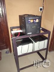 2.5kva/24v Inverter With 2(200)Ah Deep Cycle Batteries | Solar Energy for sale in Oyo State, Ibadan