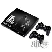 THE LAST OF US Skin Sticker Decal For PS3 Slim Playstation 3 Console And Controllers For PS3 | Video Game Consoles for sale in Lagos State, Ifako-Ijaiye