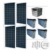 3.5kva Inverter With 4 Batteries And Solar Panels | Solar Energy for sale in Lagos State, Ikeja
