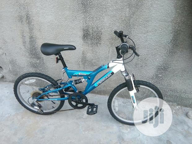 Dual Shocks Children Bicycle