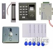 Door Maglock+500 Users Fingerprint Access Control Kit +5 Card+5 RFID | Computer Accessories  for sale in Lagos State, Ikeja