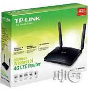 Tp-link 4G LTE Router / TL-MR6400/ SIM Slot/ 300mbps Wireless N 4G Router | Networking Products for sale in Lagos State, Ikeja