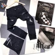 Amiri Black Ripped Jeans | Clothing for sale in Lagos State, Ojo