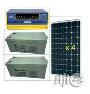 1.5kva Luminous Hybrid Inverter With 4 Solar Panels | Solar Energy for sale in Lagos State, Maryland