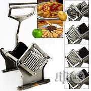 Generic Commercial Potato French Fries Apple Fruit Vegetable Cutter Slicer W/ 4 Blade | Kitchen & Dining for sale in Abuja (FCT) State, Central Business District