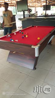 8ft Curved Legs Snooker Board. | Sports Equipment for sale in Abuja (FCT) State, Maitama