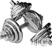 Generic Dumbbells Set Adjustable Weight From Beginner to Advanced-15kg | Sports Equipment for sale in Lagos State
