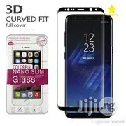 3D Screen Protector For Samsung Galaxy A9 2018 / A7 2018 - Black | Accessories for Mobile Phones & Tablets for sale in Lagos State, Lagos Mainland