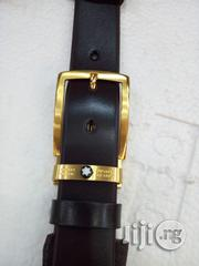 Mont Blanc Leather Belt | Clothing Accessories for sale in Lagos State, Lagos Island