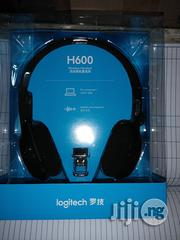 Logitech Wireless Headset H600 | Headphones for sale in Lagos State, Ikeja