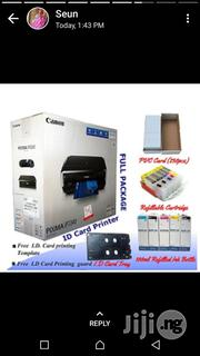IP7240 Canon ID Card Printer With All The Assesories | Printers & Scanners for sale in Lagos State, Ikeja