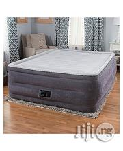 Intex Comfort Plush Elevated Dura-Beam Airbed With Built-In Electric Pump | Furniture for sale in Abuja (FCT) State, Kaura
