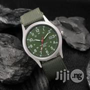Men Calendar Stainless Steel Analog Quartz Watch | Watches for sale in Lagos State, Alimosho