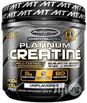 Muscletech Platinum 100% Creatine, 400 Grams Unflavored | Vitamins & Supplements for sale in Lagos State, Victoria Island